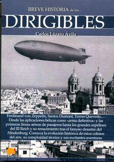 """Cubierta de """"Breve historia de los dirigibles"""""""
