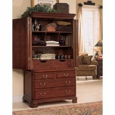 American Drew Cherry Grove Door Chest - 791-250R - American Drew Furniture