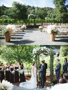 Ashton and Nicholas: A Wedding Inspired by the French Riviera and Beauty of Camelot in Napa Valley California Wedding, Calistoga Ranch, Year Of Dates, French Riviera, Napa Valley, Seaside, Real Weddings, Dolores Park