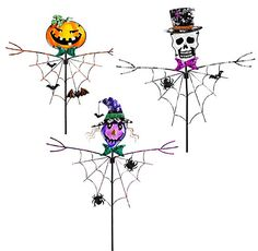 Spooky Halloween Garden Stake, 3 Assorted Gifted Living http://www.amazon.com/dp/B00MCCJP64/ref=cm_sw_r_pi_dp_L2Nqvb0WMEGDC