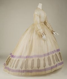 Cotton, American or European, Ca.1860. The Met, accession nr. 1992.31.6