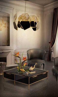 Recuperamos el lujo y el esplendor del estilo de los ochenta con interiores llenos de oro, terciopelos, estampados 'animal print'… Una deco excesiva, pero con buen gusto.
