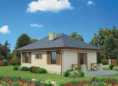 Projekt domu Bayamo dom letniskowy 43,88 m2 - koszt budowy - EXTRADOM