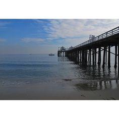 Malibu Pier. #California #Malibu #beach #ocean