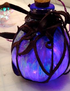 Fire Pixie Fashion: LED Fairy Lights - Steampunk Costume Accessory and Fairy Room Decor