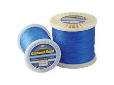 Diamond Braid Blue Line
