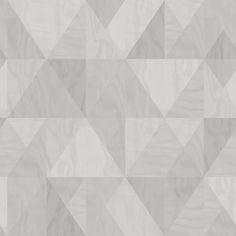 Eco Wallpaper Intarsia Grey Wallpaper main image