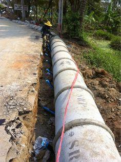 รับเหมาก่อสร้าง ต่อเติม รับสร้างบ้าน Front Service ช่วยท่านได้: งานรับเหมาก่อสร้างถนน ต.ท่าอิฐ จ.นนทบุรี