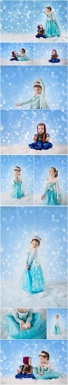 Frozen Themed Photoshoot with Anna and Elsa