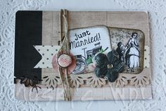 Sobre-tarjeta para regalo de dinero en una boda