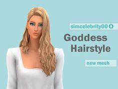 Korean Hairstyles Women, Asian Men Hairstyle, Goddess Hairstyles, Japanese Hairstyles, Asian Hairstyles, Female Hairstyles, Sims Medieval, The Sims 4 Cabelos, Pelo Sims