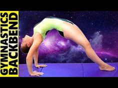 Flexibility Stretch Workout – How to Do A Backbend For Beginners, Dance, Gymnastics & Cheerleading - YouTube