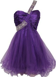 Purple prom dresses - short evening gown, love love love this dress <3