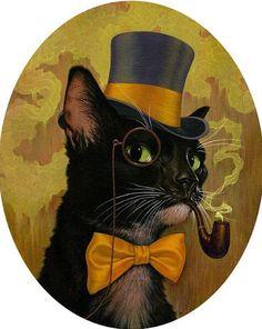 Steampunk Cool Cat