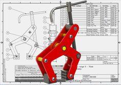 Manual Clamp range: 0 - 75 mm - STEP / IGES, SOLIDWORKS - 3D CAD model - GrabCAD