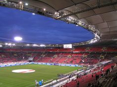 """This is """"my"""" stadium. It´s the home of the VfB Stuttgart. It´s not as much beautiful as other stadiums in the world, but to me it´s the one and only <3"""