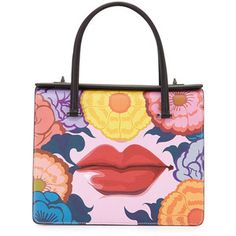 Shop Prada handbags at Neiman Marcus. Show off your love for designer items with these striking bags, totes, clutches, and more. Prada Handbags, Prada Bag, Leather Handbags, Neiman Marcus, Painted Bags, Hand Painted, Art Bag, Prada Saffiano, Luxury Bags