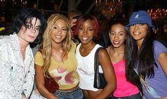 Michael Jackson, Solange , and Destiny's Child