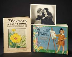 Love, Shirley Temple, Take Two: From Schoolgirl to Storybook: 130 Two Art Books of Child Shirley Temple, One Inscribed to Her Mother