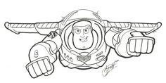 Buzz Lightyear Commission by gwdill