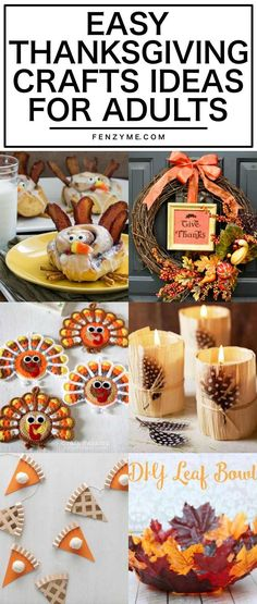 Trust me; you will enjoy these Easy Thanksgiving Crafts Ideas for Adults. It will give the occasion a special touch to your family and friends joining our Easy Thanksgiving Crafts, Fall Crafts, Leaf Bowls, Mail Marketing, Marketing Software, Adult Crafts, Wooden Crafts, Give Thanks, Card Games