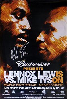 lennox lewis boxing posters - Google Search Boxing Fight, Boxing Boxing, Mma, Combat Boxe, Boxing Posters, World Boxing, World Heavyweight Championship, Balrog, Boxing Champions
