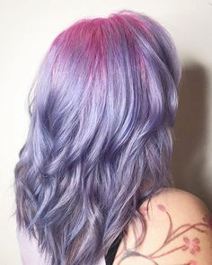 """1,979 Likes, 7 Comments - Hairbesties Community (@guytang_mydentity) on Instagram: """"#hairbestie @hairbytheressa did a funcolor on her coworker using @guy_tang #Mydentity colors on…"""""""