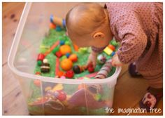 The Very Hungry Caterpillar Sensory Storytelling Tub
