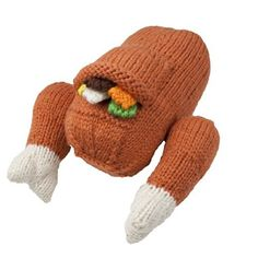 Camden Rose Knitted Play Food Set  Turkey with Stuffing * Learn more by visiting the image link.