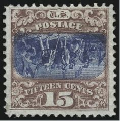 15c Pictorial invert stamp fetched $800,000 at auction