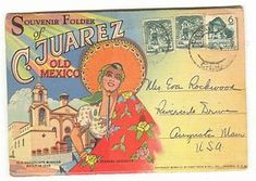 Image result for vintage Mexico post cards