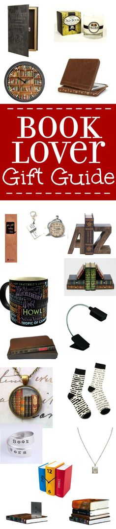 21 Awesome Gifts for Book Lovers! These amazing and unique Book Lover Gift Ideas are sure to win the heart of the bookworm in your life! Love these book lover gift ideas as Christmas gift ideas.