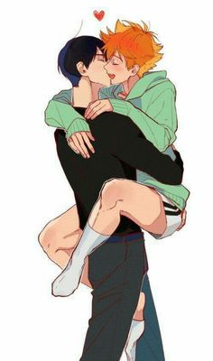 Kagehina ❤ || Credits to the artist