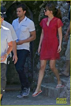 Jamie Dornan & Dakota Johnson Continue Filming 'Fifty Shades' in France After Attack: Photo #3707334. Jamie Dornan and Dakota Johnson walk side by side while on the set of Fifty Shades Freed on Friday afternoon (July 15) in Roquebrune-Cap-Martin, France. The co-stars…