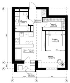56 Ideas for apartment layout floor plans interiors Small Apartment Interior, Apartment Layout, Apartment Plans, Apartment Design, Apartment Color Schemes, Floor Plan Layout, Cool Apartments, Tiny House Plans, Home Room Design