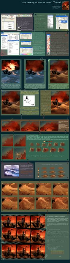 Tutorial 5 Many are calling for help by `AquaSixio on deviantART