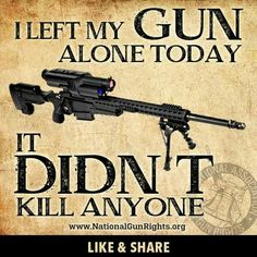 Me too.  I have the laziest,  unmotivated gun on the planet. Eff you liberal
