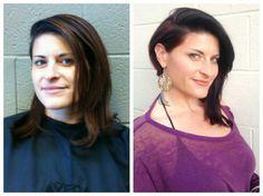 Hair by Nina Pelfini, Makeup by Joel Pisani