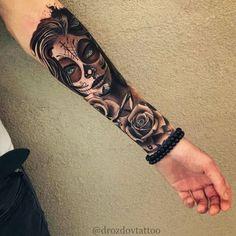 Feiern Sie Leben und Tod mit diesen fantastischen Tag der toten Tätowierungen – Tattoos – Celebrate life and death with these awesome Day of Dead Tattoos – Tattoos – … Dope Tattoos, Hand Tattoos, Forarm Tattoos, Ring Finger Tattoos, Badass Tattoos, Body Art Tattoos, Awesome Tattoos, Bone Hand Tattoo, Tatoos