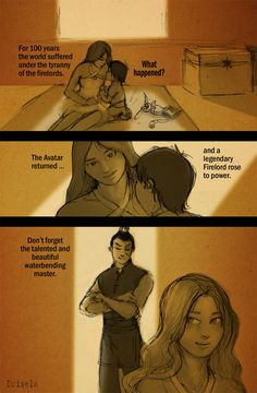 LEGENDARY by Drisela.deviantart.com on @deviantART i accept some zutara, not all...but that was cute.