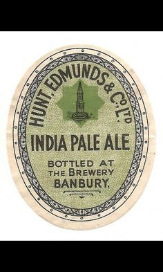 Edmunds of Banbury Ale, Lost, Personalized Items, Bottle, Ale Beer, Flask, Jars, Ales, Beer