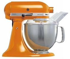 KitchenAid Artisan 5KSM150PSETG Tangerine 220 volt >>> Click on the image for additional details. (This is an affiliate link) #Mixers