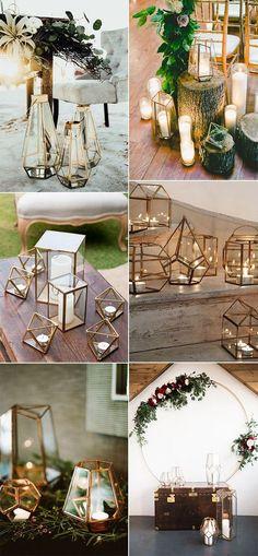 geometric lantern wedding decoration ideas #weddingdecor #weddinglights #weddinglanterns #lanterndecorations #weddingideas #weddingdecoration
