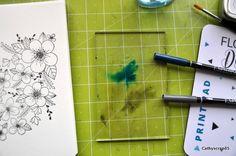 Cathy-tuto-4 Scrapbooking, Diy, Fedoras, Birthdays, Crafts, Draw, Tips And Tricks, Creative Crafts, Bricolage