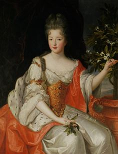 Louise francoise bourbon-Louise Françoise some time after her marriage to Louis III,Prince of Condé.