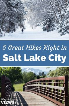 These 5 urban hiking trails in Salt Lake City offer the perfect balance of wilderness and accessibility. Go for great hikes in Salt Lake City Salt Lake City Utah, Salt City, Downtown Salt Lake City, Salt Lake City Hikes, Utah Hikes, Us Road Trip, Up House, Best Hikes, Travel Usa