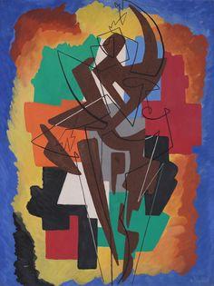 Danseuse - Pirouette (Mouvement - Son- Lumière): Gino Severini, 1959