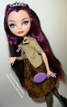 Ever After High Dress & Cardigan Monster High Custom by awiety, $15.50