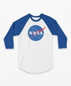 b50fe518626 3 4 Baseball T-Shirt NASA Meatball Original for Women