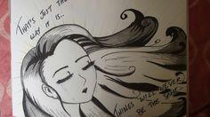 Promarker drawing..2Pac Changes lyrics